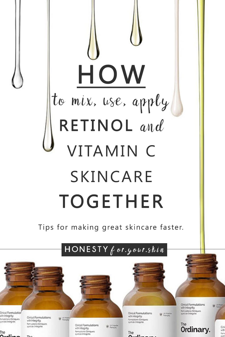Retinol and vitamin C are both fantastic skincare superheroes for wrinkles, wrinkle prevention and wrinkle rewinding. But should you use retinol and vitamin C together? Do they play fair?