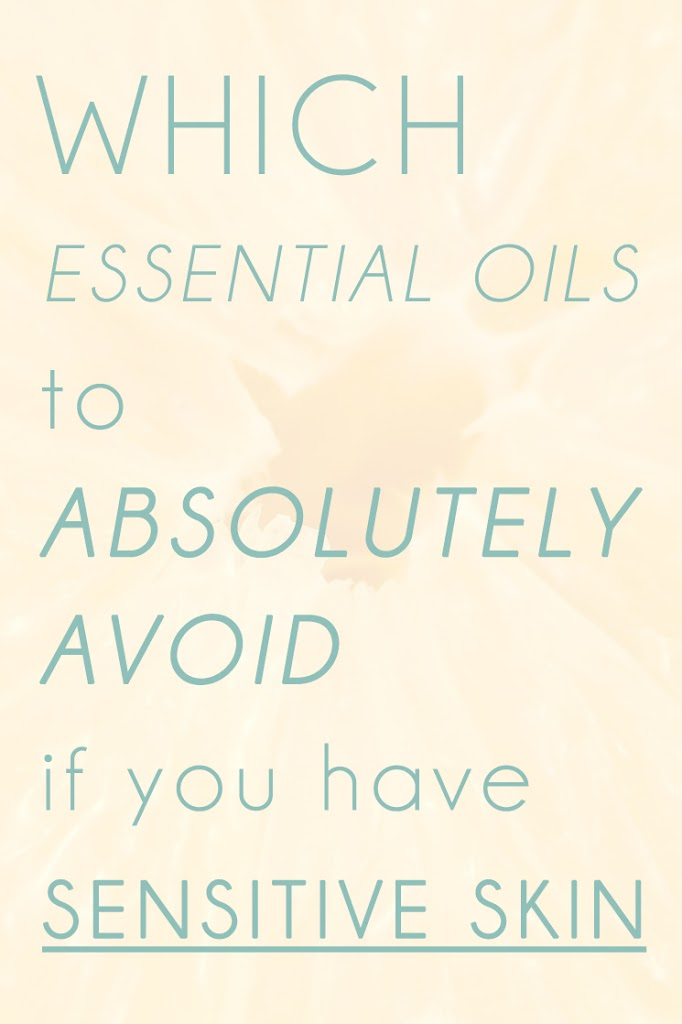 Fragrance can be super sensitising for sensitive skin. That includes even natural essential oils, here's some essential oils to avoid if you have sensitive skin