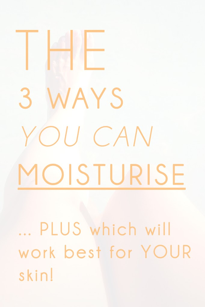 Which moisturisers work best for different skin types