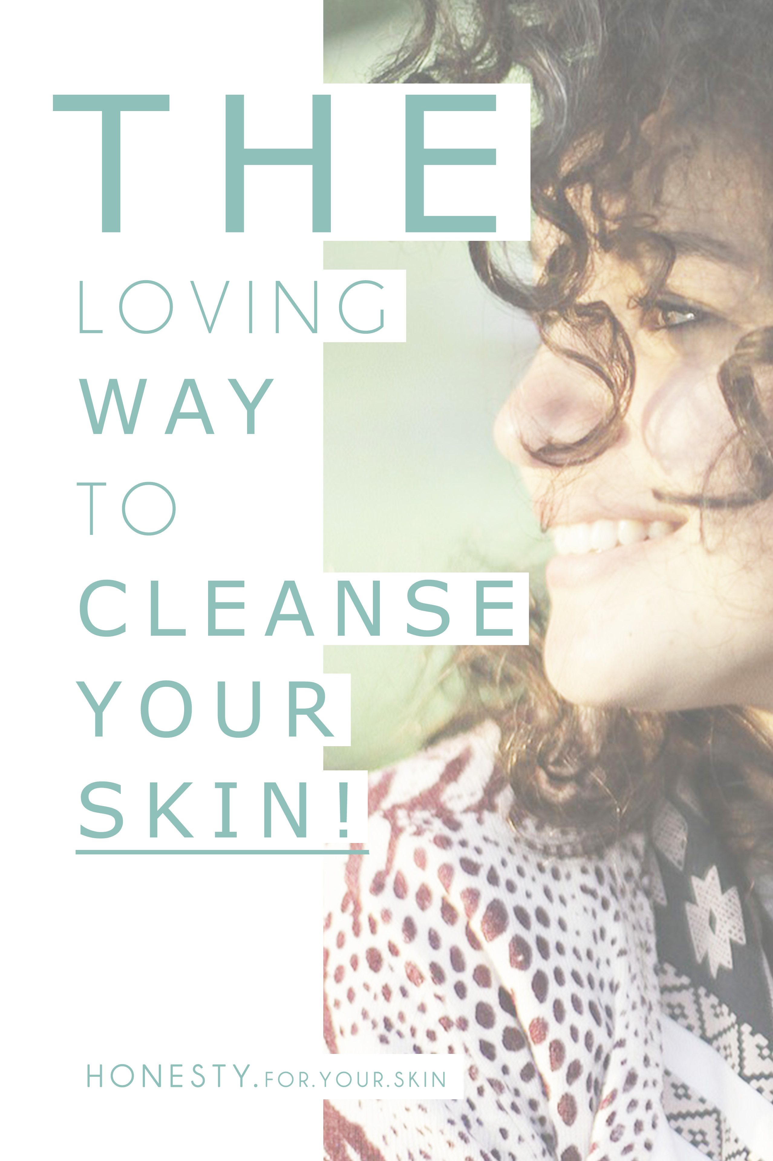 A SUPER skin loving way to cleanse your skin. Say GOODBYE to face tightness and oh hello super glowy skin!
