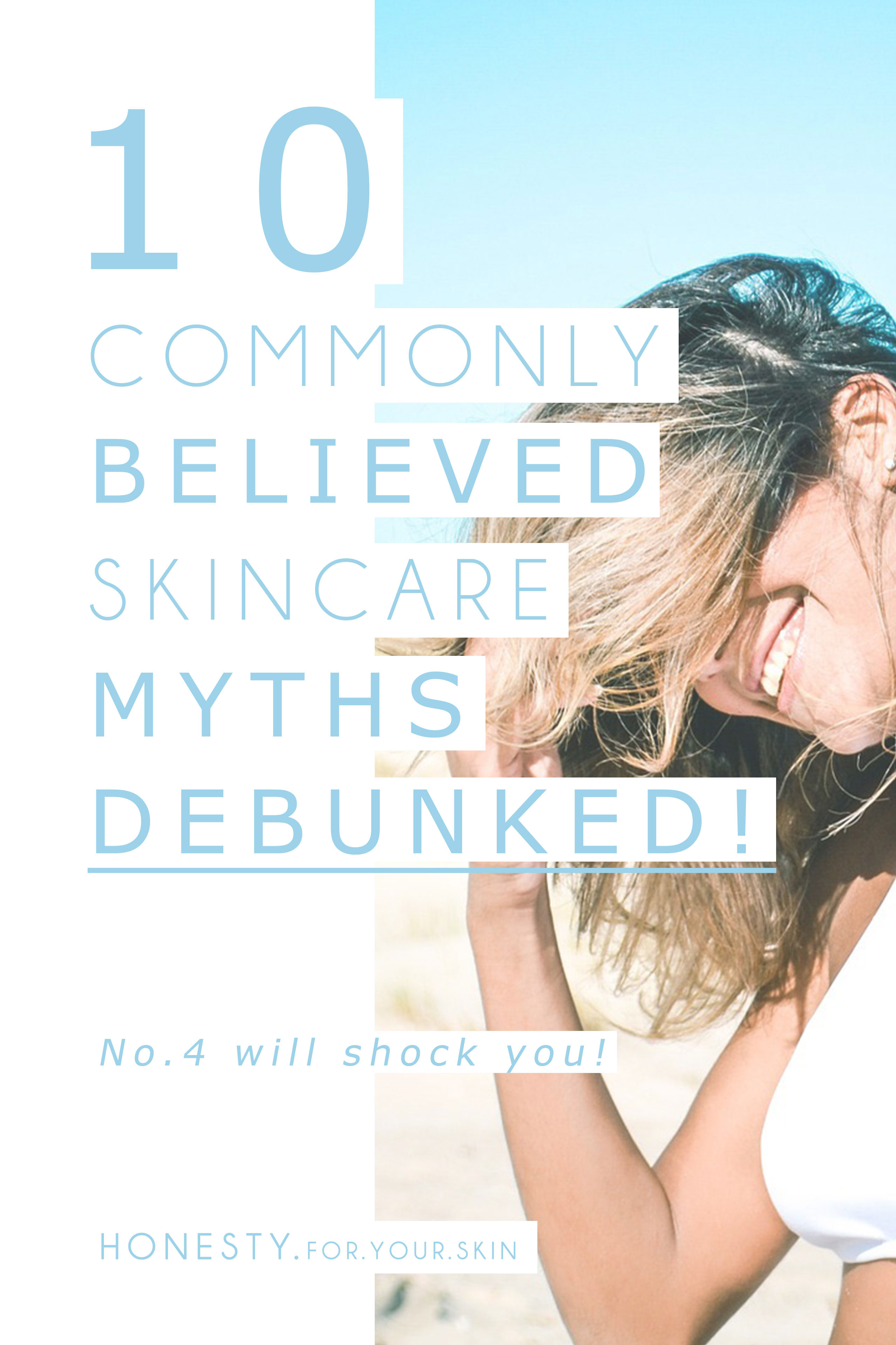 If If someone told you that taking a good ol' dollop of horse poop and rubbing it into your skin was not only good for you but anti-aging… would you do it? Seriously, would you be tempted? [It's ok if you are – no judgement!] Sometimes the 'wackier' the skincare advice, the more we believe it, because 'it sounds so wild it has to work right'? There is some SUPER questionable skincare advice out there, skincare myths could be taking your skin through the 'ringer'. Don't let one of these 10 skincare myths be the reason why… http://wp.me/p6LuQS-xs