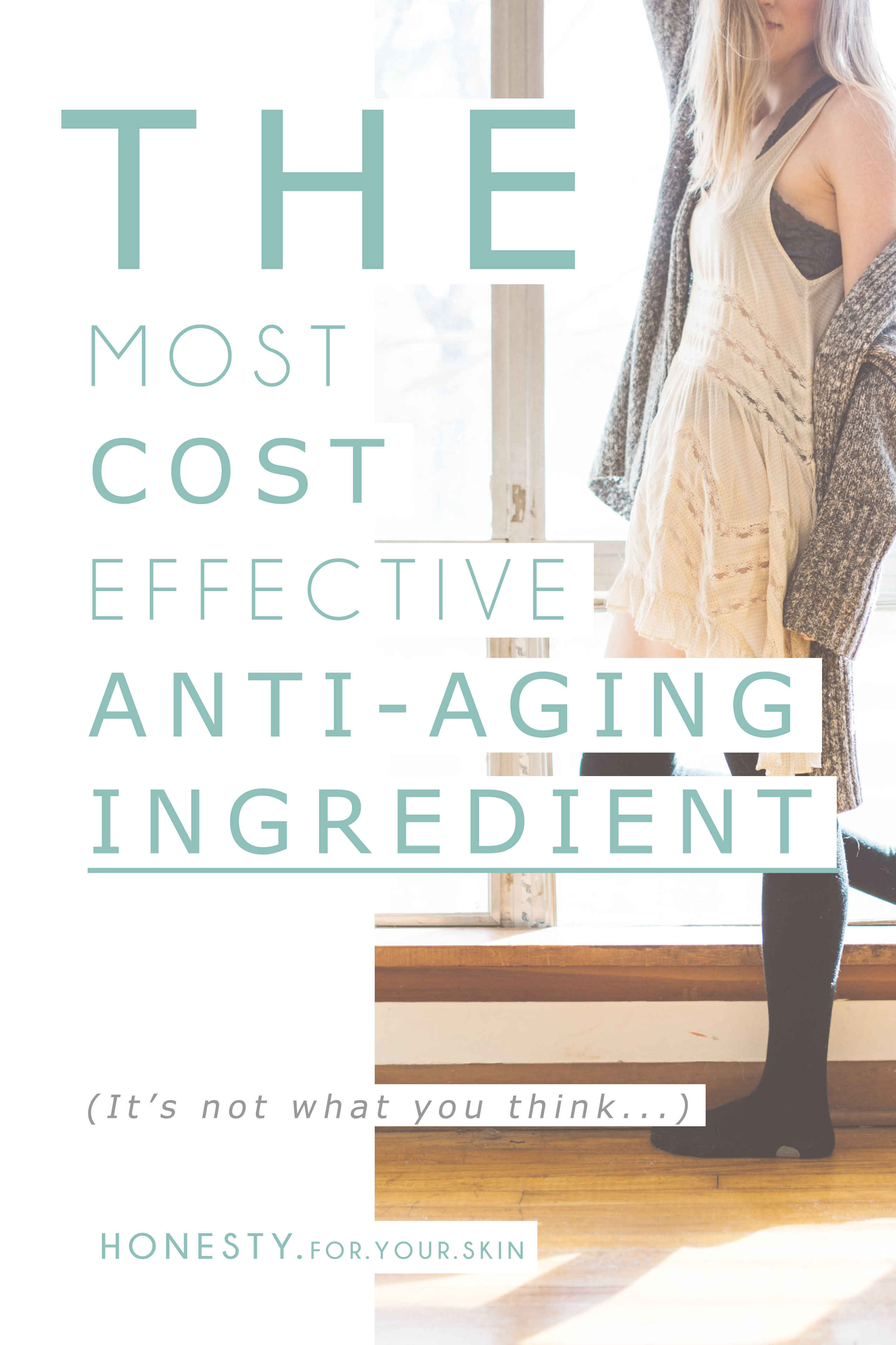 Anti-aging skincare is a MASSIVE market and big skincare giants are always on the hunt for new finds that plump out wrinkles, banish fine lines to an artists sketch pad and brighten those 'sun posts'. There are some very well known and well researched ingredients that do wind those years backwards (vitamin A and niacinamide I am looking at you!)... but here is the thing, WHY wind back that damage when you could stop it from happening in the first place... why treat the effects when you could treat the cause... this is the most cost effective anti-aging cream you could ever use http://wp.me/p6LuQS-FO