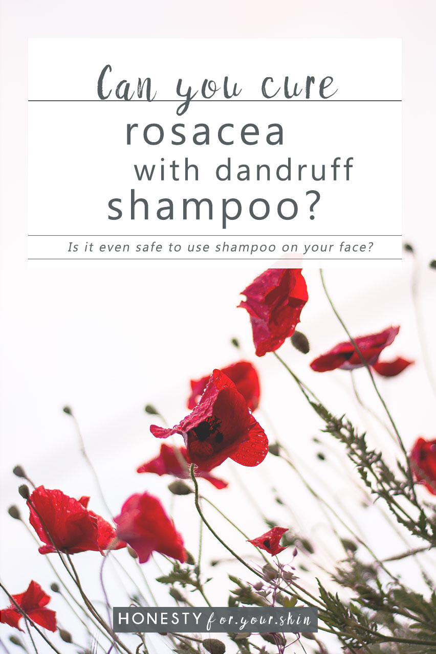 There's a lot of internet chatter about rosacea and dandruff shampoo. Could there really be a £4.99 cure for your rosacea.Is this legit? Does it work? Should you even use shampoo on your face?... http://wp.me/p6LuQS-11j
