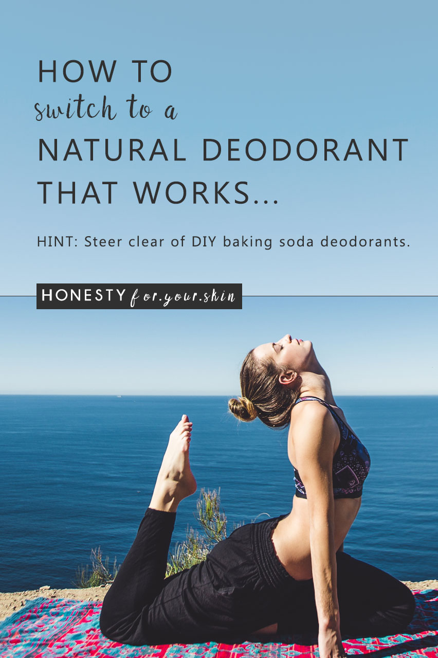 Are you looking for a natural deodorant? Are you considering making your own natural baking soda deodorant. My friend, pause until you read this. Baking soda deodorants are everywhere and I'm telling you the reason why you shouldn't use one, hint it's gonna save you from a natural baking soda deodorant rash as speckled as a Damien Hirst painting. Ditch the baking soda deodorant and replace it with one of these natural deodorant alternatives...
