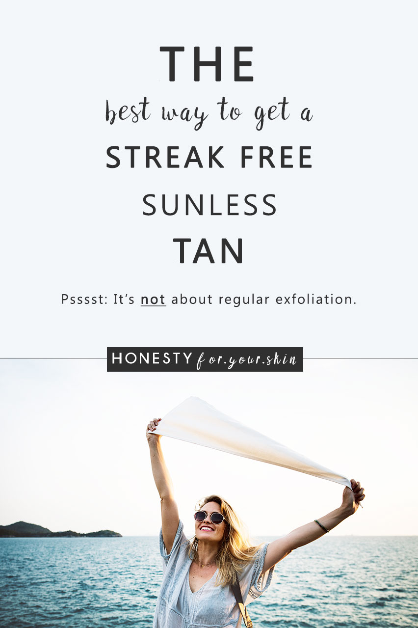 Self tanner can leave you with a browning glow or it can leave you looking like a Willy Wonka Umpa Lumpa. The best self tanner give you an even, beautiful glow, or choose another and it could gift you patchy, streaky orange bits. Most people believe the best self tan is about application, exfoliation and moisturiser. Not many people know the best self tanner is all about choosing the right active ingredient. Aka - choosing a DHA free fake tan. This my friend, is the secret...