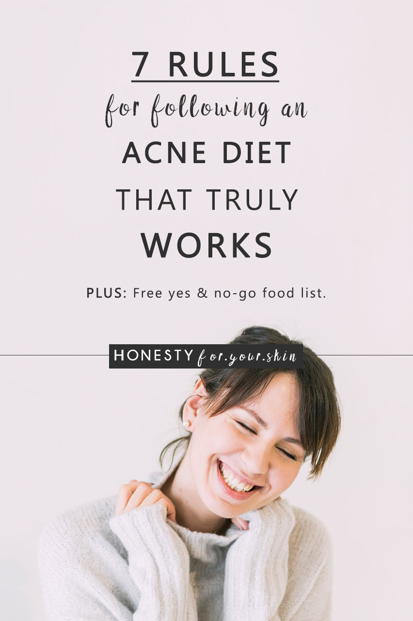 Acne my friend is not just skin deep. Treat your acne with only skincare and you will not win this skin battle. But follow the acne diet and you could be turning around the health of your skin much more quickly than you'd ever imagine.