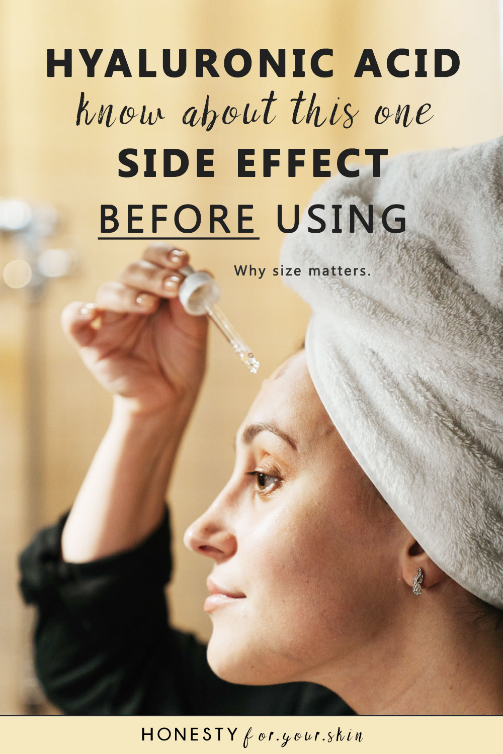Hyaluronic acid side effects, do you know about them? Don't use hyaluronic acid serum without reading this first. Be safe with your skin.