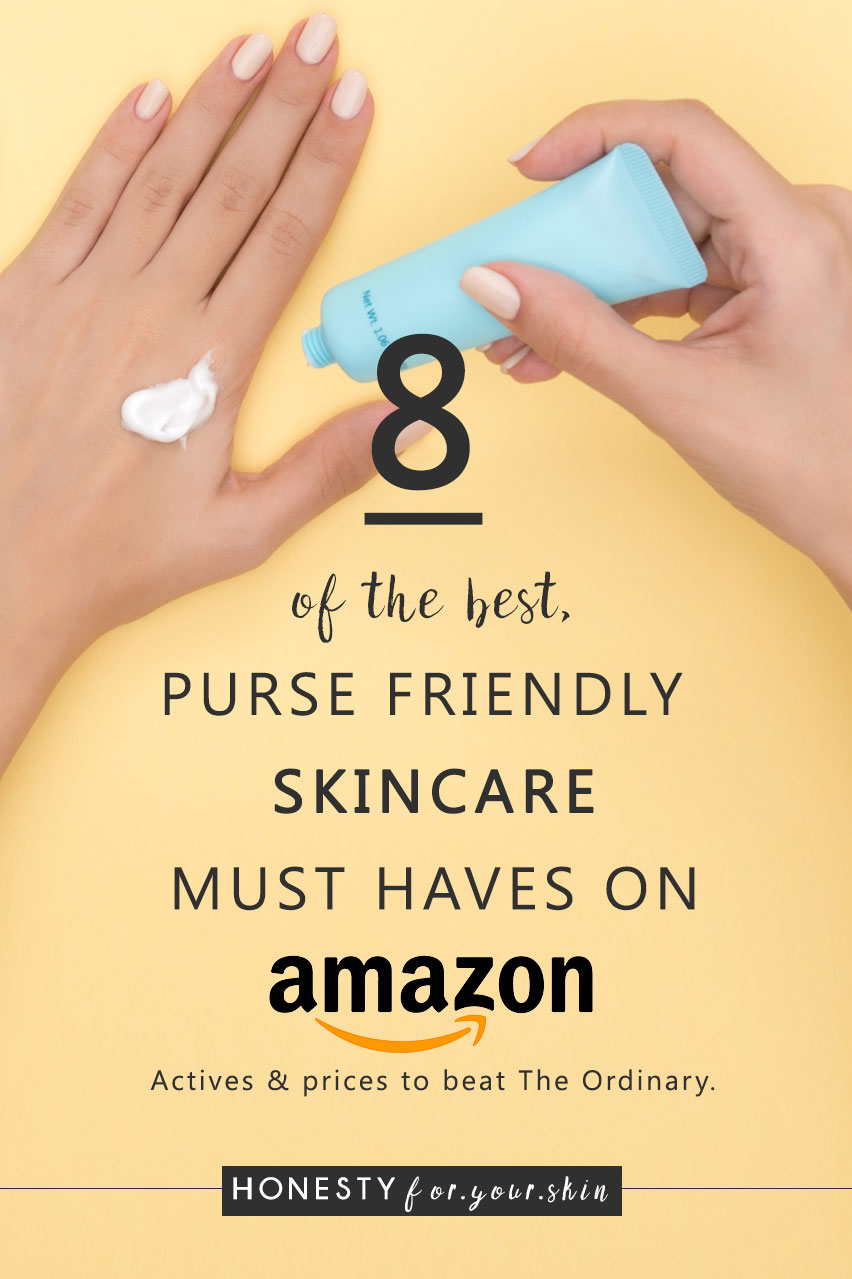 Amazon my fellow skin savvy is an untapped resource for extremely kind to your purse skin care. We're talking niche, quirky, active packed skincare with ingredients in concentrations and of quality you'd pay 10 x for elsewhere. Are you ready to find the best skin care products on Amazon dear friend? One's you'll get so excited about using you'll be thanking the Amazon gods for prime next day delivery? Let's get to this...