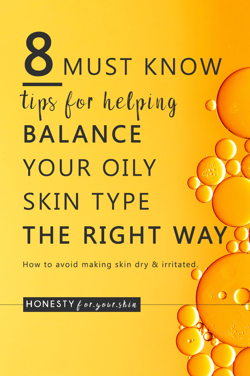 Best bit most of these tips for oily skin are not very commonly known. We're getting you into the science of oily skin so you can understand why your oily skin's doing what it's doing and exactly what you can do to help stop it trying to make a full bottle of cooking oil by the 12 o'clock chime.