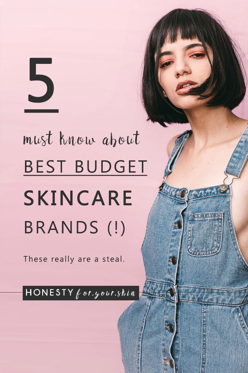 Cheap skincare can be one of 2 things. Awesome or bin-worthy. This is why you my friend need a list of best budget skincare brands which are affordable, inexpensive and bookmarked permanently in your Pinterest.