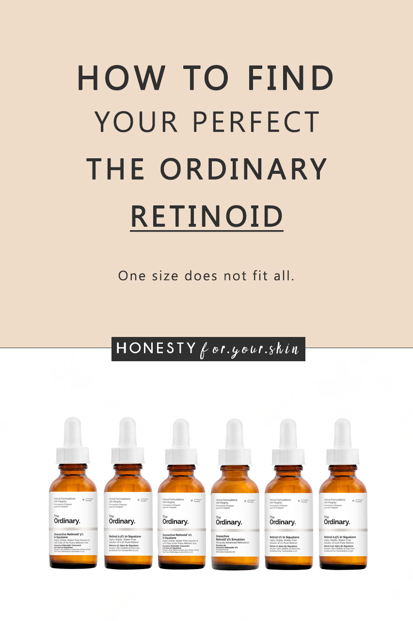 The Ordinary Retinol Review: How to find your perfect fit.