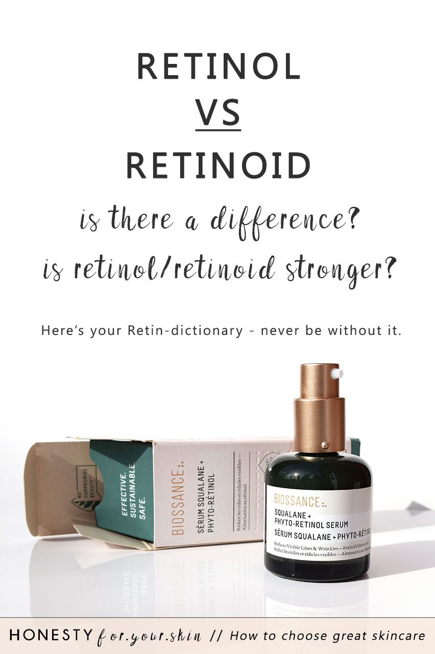Retinol, retinoid, retinal, tretinoin, adapalene, granactive retinoid, retinoic acid, vitamin A. Retinoid shopping... it's like a Starbucks visit. So many decisions to make and all at once. It's a decision cascade. It's overwhelming. It's inaction making. Retinol vs. retinoid - is there a difference? Is retinoid or retinol stronger? Which is most effective for your skin? Come find our all dear skin savvy in the making...