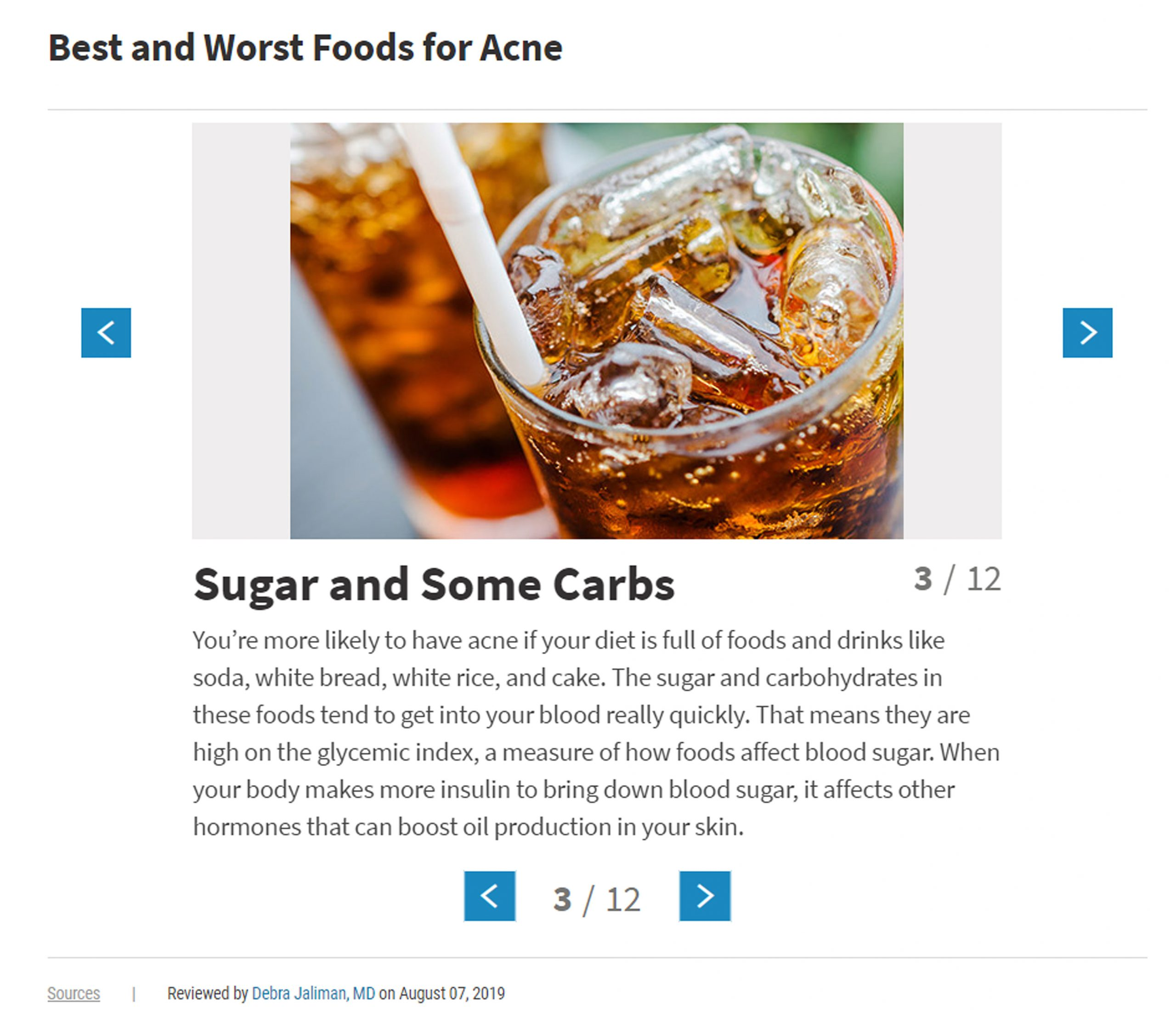 Best and worst foods for acne. Are WebMD right? What foods are bad for your skin? Click to read more.