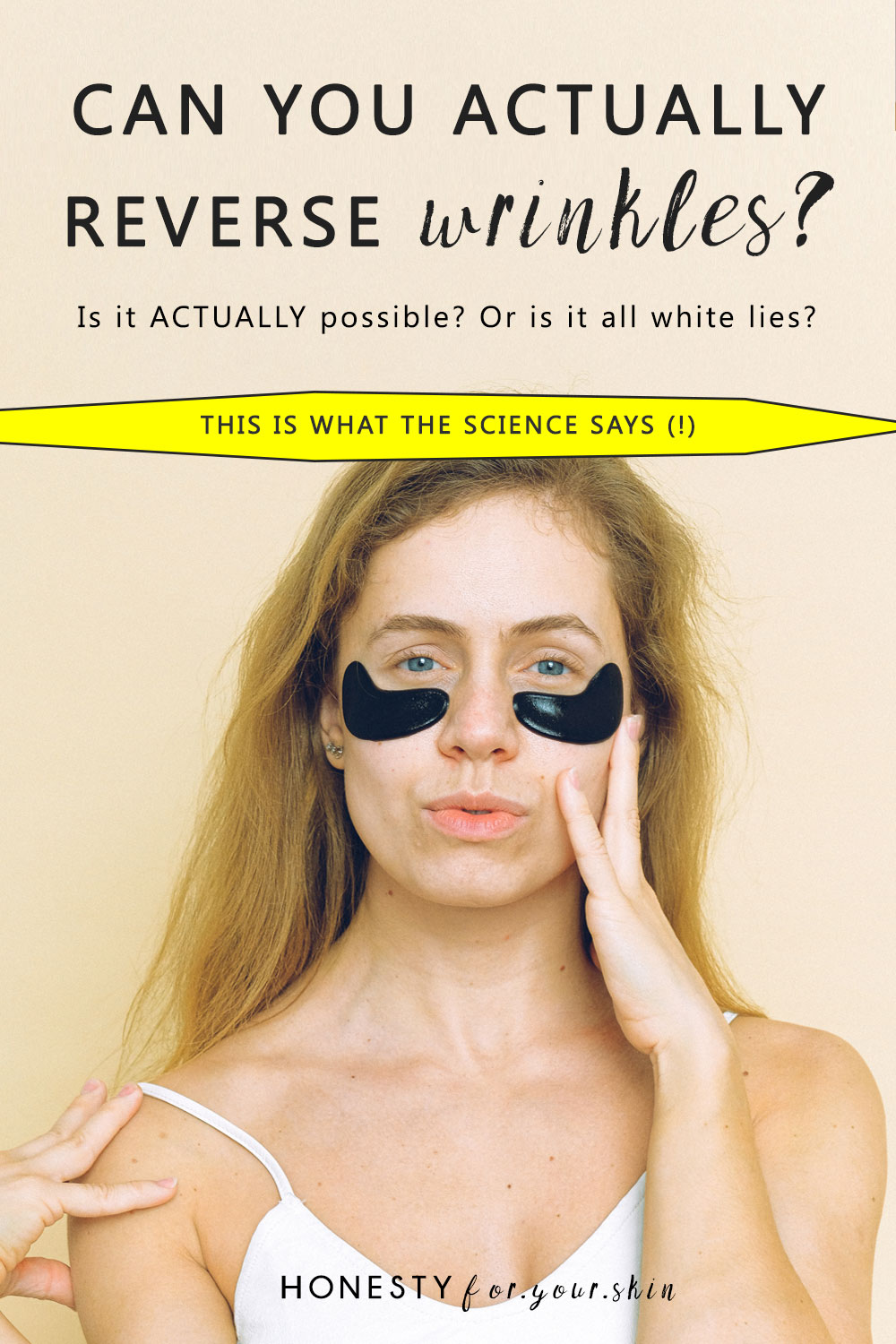 Can you reverse wrinkles? Get rid of fine lines? Do anti-ageing creams work? I think you're going to be shocked by what the science says.
