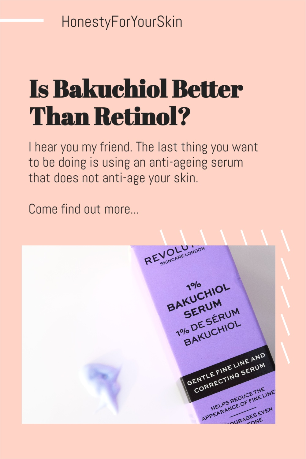 Is bakuchiol better than retinol? Can you use bakuchiol everyday? Can bakuchiol be used around eyes? I hear you my friend. Get answers here.